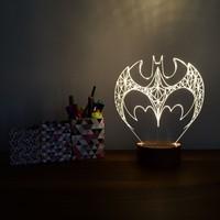 By-Lamp 3 Boyutlu Batman Lamba