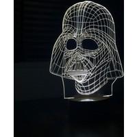 By-Lamp 3 Boyutlu Darth Vader Lamba