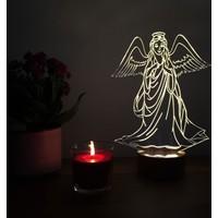 By-Lamp 3 Boyutlu Melek Lamba