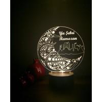 By-Lamp 3 Boyutlu Ramazan Lamba