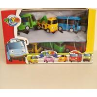 Hdm Tayo Oyuncak Otobüs Arabalar 6 Adet Sevimli