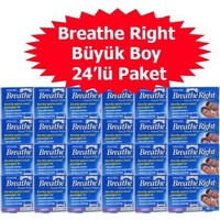 Breathe Right Klasik Burun Bandı Büyük Boy 24'Lü Paket