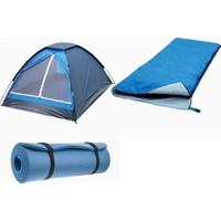 Loap Domepack Combo Caroy Kamp Seti (Çadır, Uyku Tulumu, Mat)