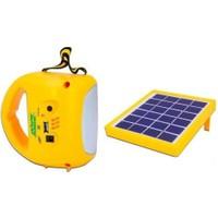 Powermaster Şarjlı Solar Aydınlatma Seti Tek Panelli 33399