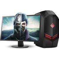 "HP Gaming Omen Intel Core i7 7700 16GB 2TB + 256GB SSD GTX1070 Freedos 24"" FHD Masaüstü Bilgisayar 2BX85EA"