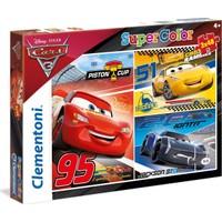 Clementoni 3 x 48 Parça Cars 3 Piston Cup Çocuk Puzzle (25221)