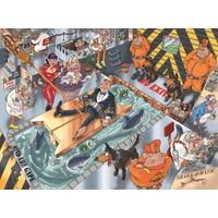Jumbo Wasgij Mystery Puzzle (Mükemmel Bir Kaçış 1000 Parça)