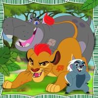 Ravensburger 093489 - 3 x 49 Parça The Lion Guard Puzzle
