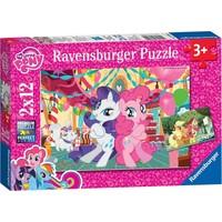 Ravensburger 2 x 12 Parça My Little Pony Puzzle