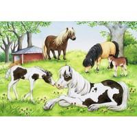 Ravensburger Atların Dünyası 2 x 24 Parça Çocuk Puzzle