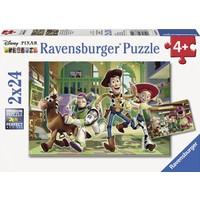 Ravensburger Toy Story Çocuk Puzzle (2 x 24 Parça)