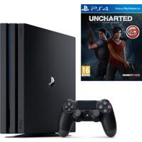 Sony Playstation 4 Pro 1 Tb ( Ps4 Pro ) + Ps4 Uncharted Kayıp Miras