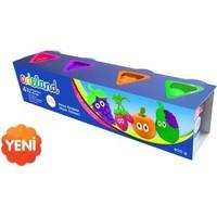 Adeland Oyun Hamuru, Neon, 100 G, 4 R.