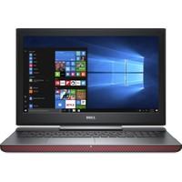 """Dell Inspiron 7567 Intel Core i7 7700HQ 16GB 1TB + 128GB SSD GTX1050Ti Freedos 15.6"""" FHD Taşınabilir Bilgisayar B7700D128F161C"""