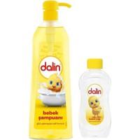 Dalin Şampuan 750 ml+ 200 ml + Bebek Yağı