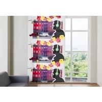 Melodie Fon Perde Renkli Pop Art 145X250