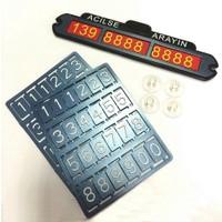 Microcase Park - Telefon Numaralık Vantuzlu Araç İçi Tutucu Pano