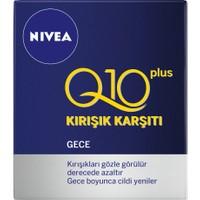 Nivea Q10 Plus Kırışık Karşıtı Gece Kremi 50Ml