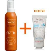 Avene Spray Spf 30 Hassas Ciltler İçin Koruma 200 Ml + Avene After Sun 50 Ml Hediye