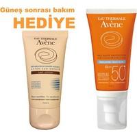 Avene Emulsion Spf50 + Avene After Sun 50Ml Hediye
