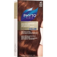 Phyto Color Saç Boyası 6C Koyu Sarı Bakır (Blond Fonce Cuivre)