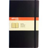 My Note Case 13X21 96 Yaprak Siyah Çizgili Defter Myn100-Ç