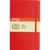 My Note Case 13X21 96 Yaprak Kırmızı Çizgili Defter Myn100-Ç