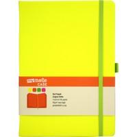 My Note Case Yeşil 96 Yaprak Neon Sarı Çizgisiz Defter Myn127