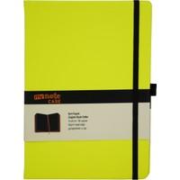 My Note Case Siyah 96 Yaprak Neon Sarı Çizgisiz Defter Myn126