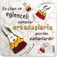 Snoopy En Çılgın Ve Eğlenceli Zamanlar Magnet Mag 12