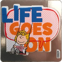 Snoopy Life Goes On Magnet Mag 20