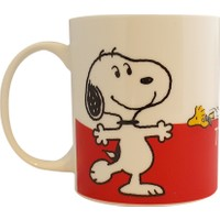Snoopy I Love You This Much Porselen Kupa Ref.15