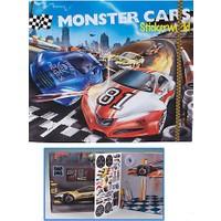 Top Model Monster Sticker Dk06244