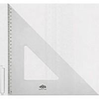 Hatas 60/45° Teknik Resim Gönye Acryl 0720