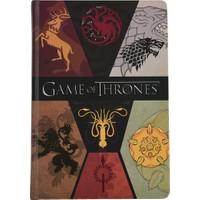 Game Of Thrones Defter A5 Sert Kapaklı Lastikli 120 Yaprak Got215