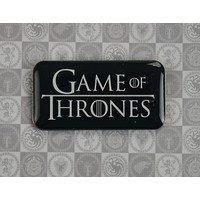 Game Of Thrones Yaka Rozeti - Siyah Got531
