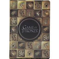 Game Of Thrones Gold Hanedanlar A5 Çizgisiz Defter Got217