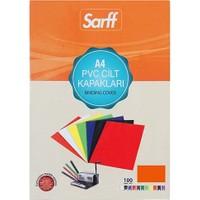 Sarff Cilt Kapağı Pvc 160 Micron A4 Kırmızı 100'Lü Paket