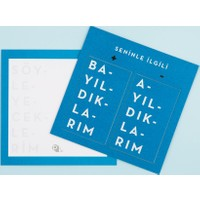 Pk Design İkili Kartlar Mavi Ik103