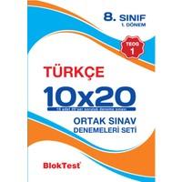 Bloktest Yayınları 8. Sınıf Türkçe Teog 1 Deneme Seti