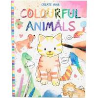 Top Model Renkli Hayvanlar Boyama Kitabı 8916 Fiyatı