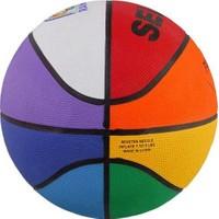 Selex Rb-3 No Rainbow Renkli Kauçuk Basketbol Topu