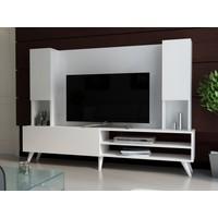 EvModüler Noble Tv Ünitesi 00252-01 Beyaz Beyaz