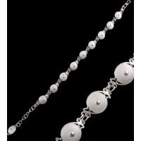 Akyüz Gümüş Telkari Gümüş Bileklik Bt061