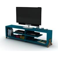 Rafevi Kipp TV Ceviz-Mavi