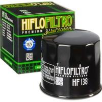 Hiflo HF138 Premium Metal Motosiklet Yağ Filtresi TUV Onaylı