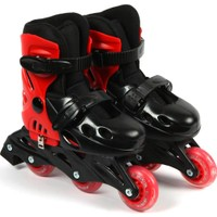 Delta SDT 82 Kırmızı & Siyah Inline Skate Paten