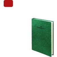 Faber Castell Not Defteri Ciltli A6 Bambu K.Kırmızı 100/1