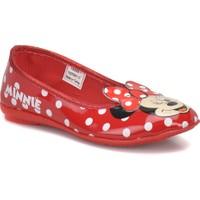 Mickey Mouse Fangs Kırmızı Kız Çocuk Babet