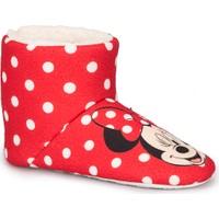 Mickey Mouse Lary Kırmızı Kız Çocuk Panduf